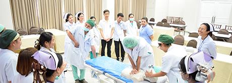 อบรม CPR ฟื้นฟูทักษะการช่วยฟื้นคืนชีพ