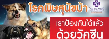 โปรแกรมวัคซีนป้องกันโรคพิษสุนัขบ้า