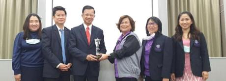 รับรางวัล โรงพยาบาลเกษมราษฎร์ ประชาชื่น ในเครือ Bangkok  Chain Hospital ที่สร้างรายได้สูงสุด ประจำปี 2563