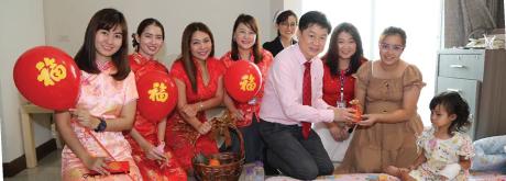 เนื่องในเทศกาลตรุษจีน รพ.เกษมราษฎร์ ประชาชื่น