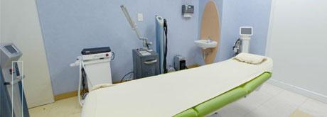ห้องตรวจสุขภาพผิวและความงาม