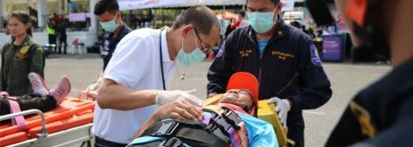 กิจกรรมโครงการรวมพลคนกู้ภัย ประจำปี 2562