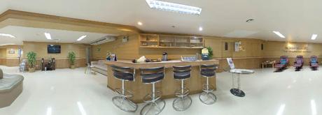 ห้องนวดแผนไทย ในศูนย์สุขภาพ ชั้นลอย