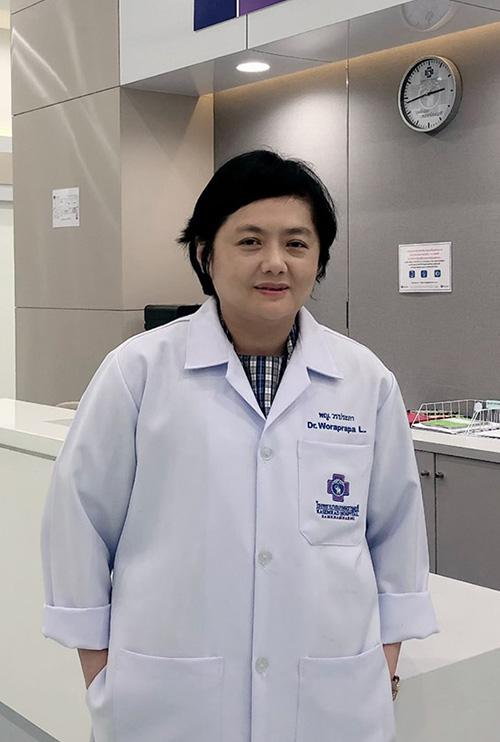 แพทย์หญิงวรประภา  ลาภิกานนท์